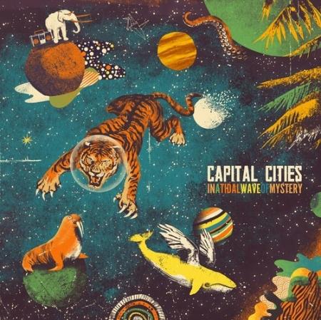 LP Capital Cities - In A Tidal Wave Of Mystery Lacrado Importado