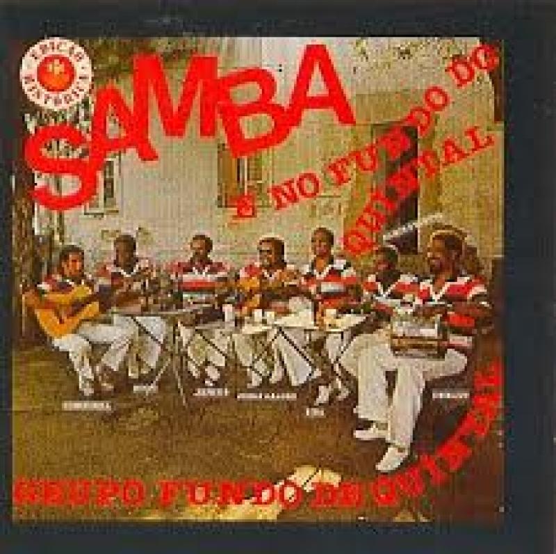 Fundo de Quintal - Samba e no FUNDO DE QUINTAL (CD)