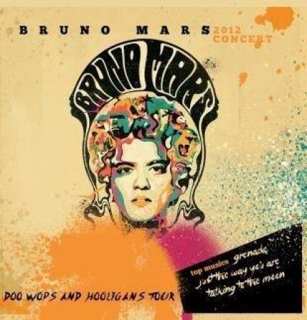 Bruno Mars - Concert 2012 CD