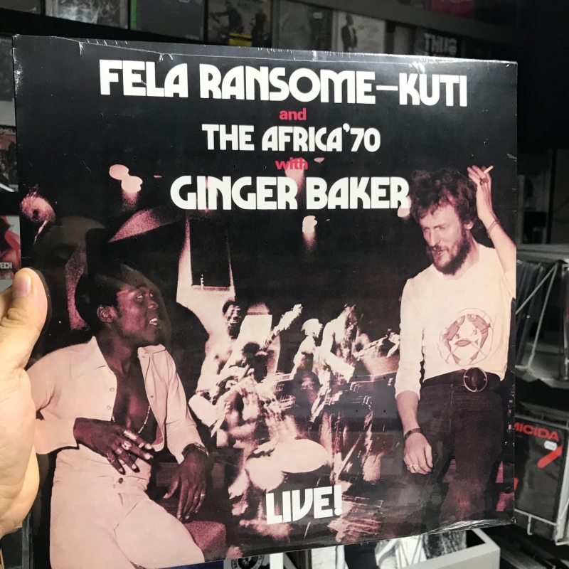 LP Fela Ransome-Kuti And The Africa 70 With Ginger Baker - Live VINYL