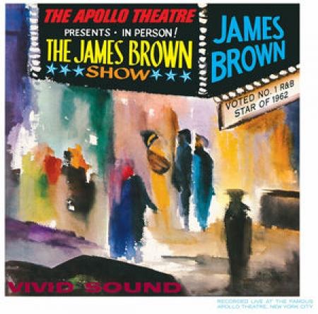 LP JAMES BROWN - Live at the Apollo IMPORTADO LACRADO