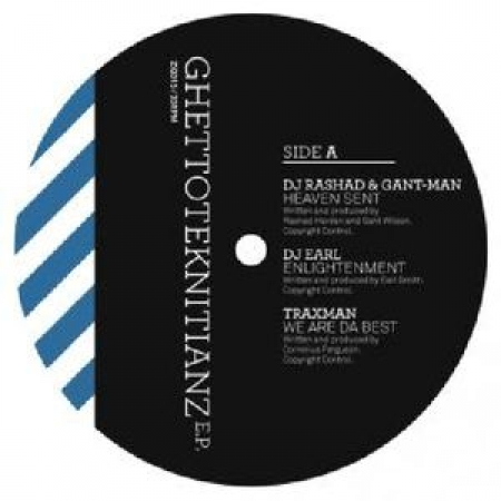 LP Ghettoteknitianz EP - VARIUS ARTISTS (Extended Play) VINYL IMPORTADO