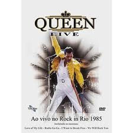 Queen Live - Ao Vivo No Rock In Rio ( DVD )