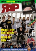 .CONE CREW E MARCELO D2 - REVISTA RAP NACIONAL N 10 - GRATIS CD MV BILL