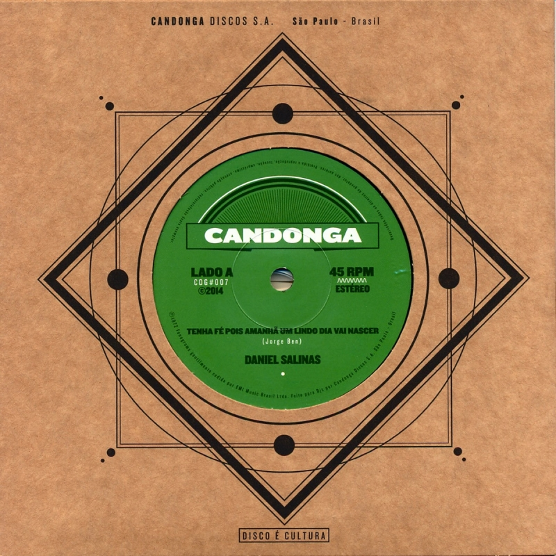 LP Daniel Salinas - (Vinyl Compacto 7 Polegadas)