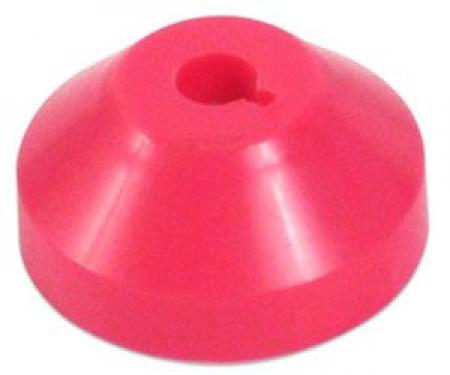 Adaptador p/ compacto 45 rpm em plastico vermelho