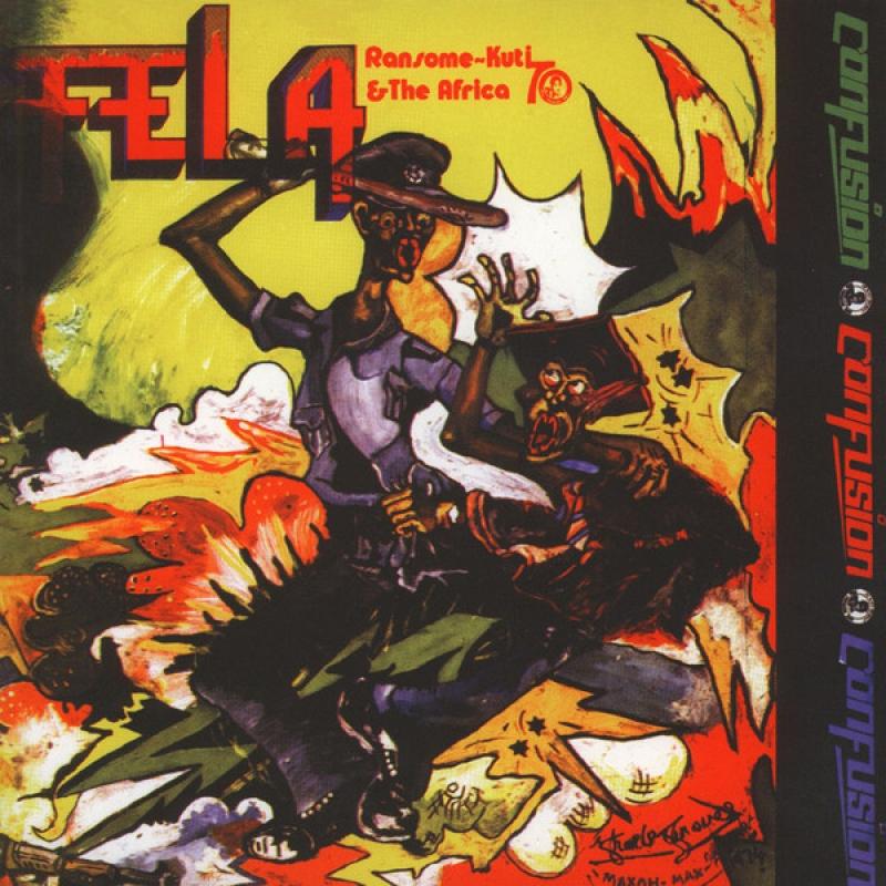 LP Fela Ransome-kuti & The Africa 70 Lp Confusion VINYL IMPORTADO LACRADO