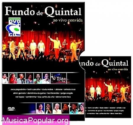 Fundo de Quintal ao Vivo Convida (DVD + CD)