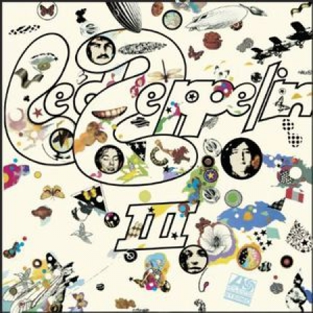 LP Led Zeppelin III - 180 GRAMAS IMPORTADO LACRADO