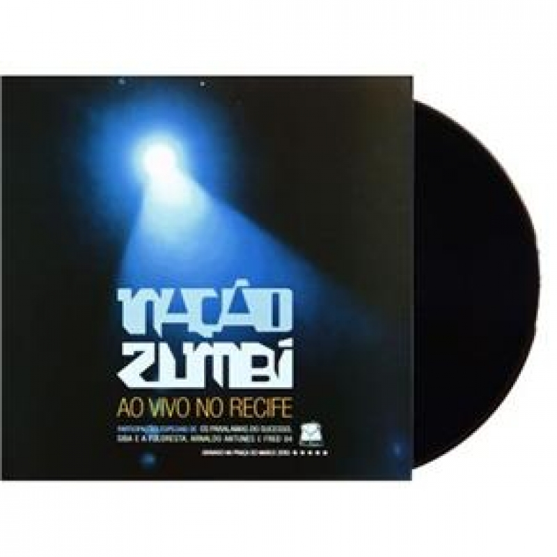 LP Nação Zumbi Ao Vivo No Recife VINYL LACRADO