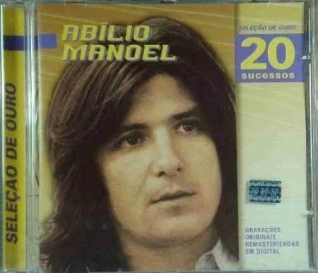 Abilio Manoel - Selecao de ouro 20 sucessos