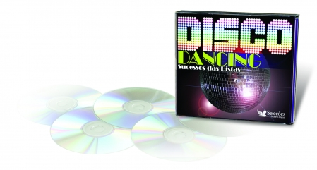 BOX DISCO DANCING (4 CDS)