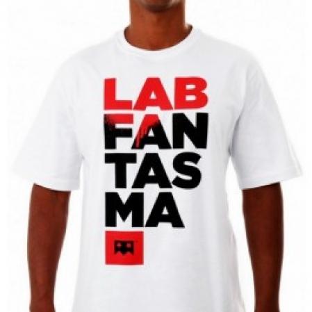 Camiseta Masculina - EMICIDA - Lab Fantasma - Branca