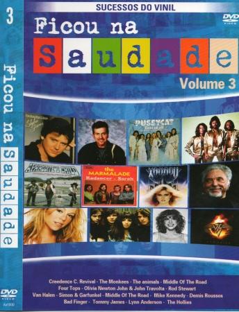DVD Ficou Na Saudade - Vol 03
