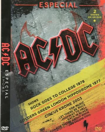 AC/DC - Especial Shows (DVD)