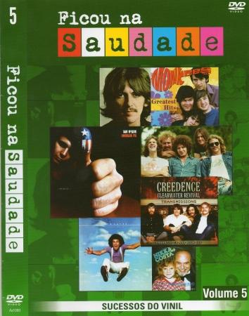 Ficou Na Saudade - Vol 05 (DVD)