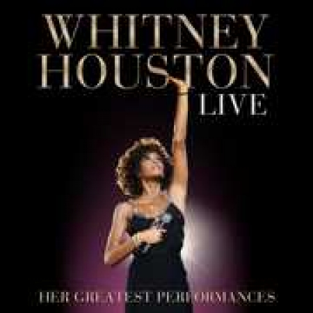 CD+DVD Whitney Houston Live Her Greatest Performances