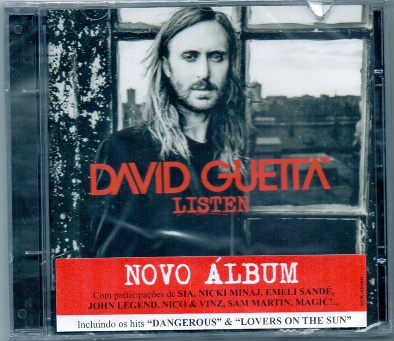 .CD David Guetta Listen (IMPORTADO)
