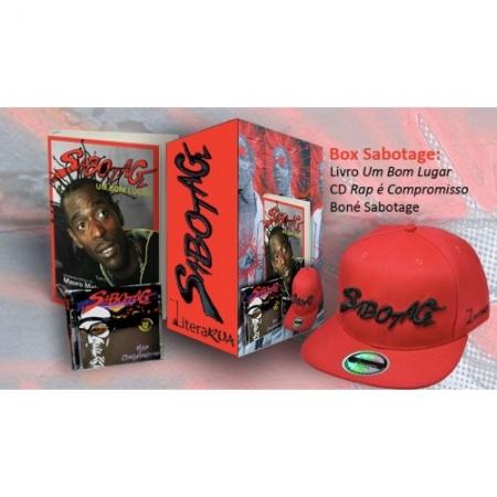 KIT Sabotage - Livro + Boné + CD Rap é Compromisso