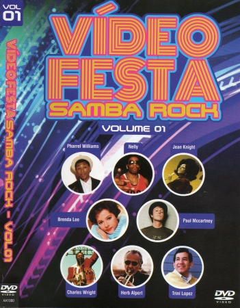 Video Festa - Samba Rock Vol. 1 (DVD)