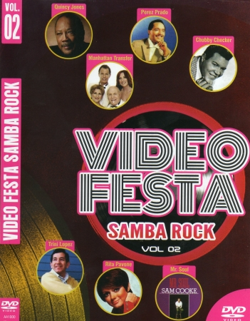 Video Festa - Samba Rock Vol. 2 (DVD