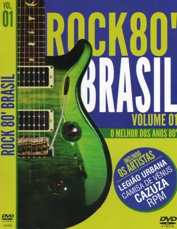 Rock 80 Brasil - O Melhor Dos Anos 80 (DVD)