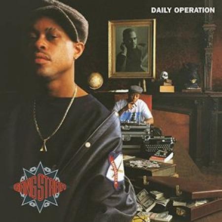 LP Gang Starr - Daily Operation VINYL IMPORTADO LACRADO (CAPA HOLOGRAFICA)
