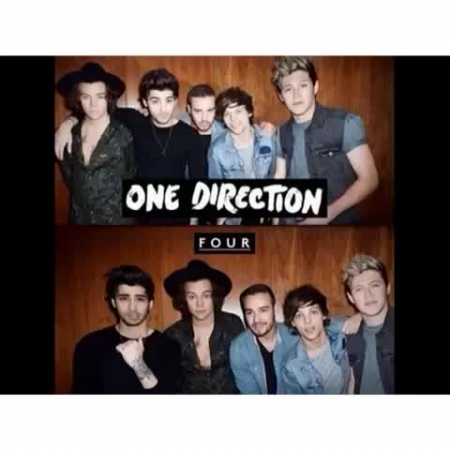 One Direction - Four 4 Postcards Exclusivos