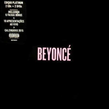 Beyonce The Platinum Edition EXPLICIT VERSION (NACIONAL) KIT 2CD E 2 DVD