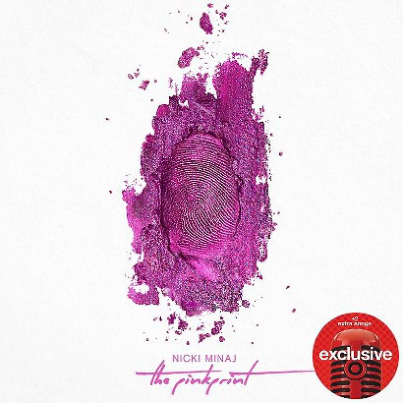 .CD Nicki Minaj The Pinkprint (Deluxe Edition) EXPLICIT IMPORTADO