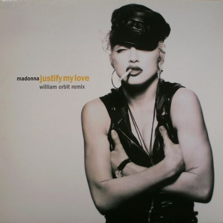 LP Madonna - Justify My Love Vinyl Single