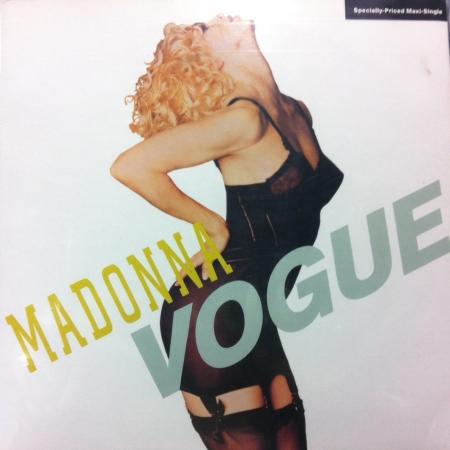LP Madonna - Vogue VINYL Single IMPORTADO