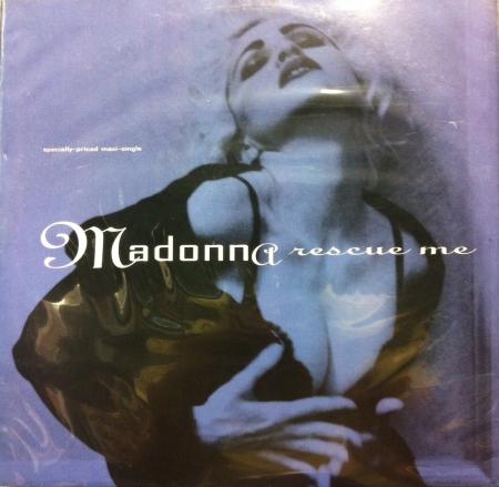 LP Madonna - Rescue Me Importado 12 (Vinyl Single Importado)