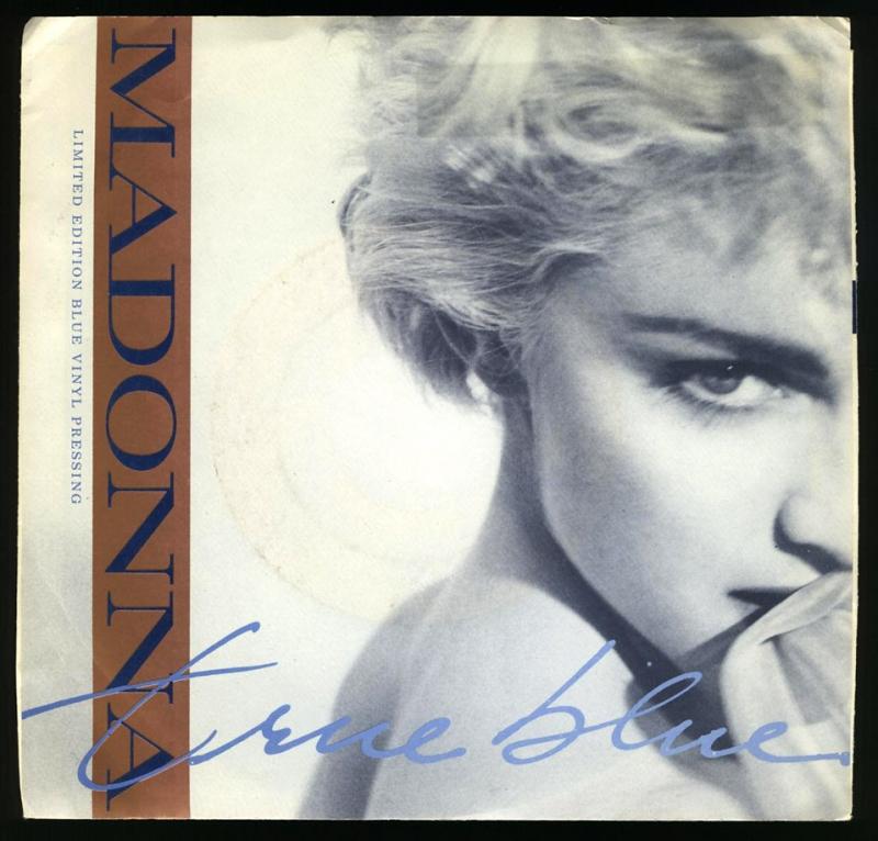 LP Madonna - True Blue 12 (Vinyl Single Importado)