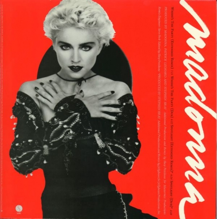 LP Madonna - s The Party Spotlight 12 Single Importado