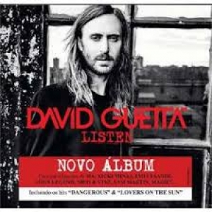 CD David Guetta Listen Deluxe Duplo Digipack