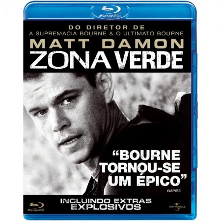Zona Verde Matt Damon (BLU-RAY)
