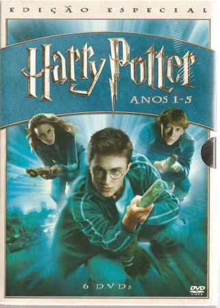 Box Dvd Harry Potter Anos 1 - 5