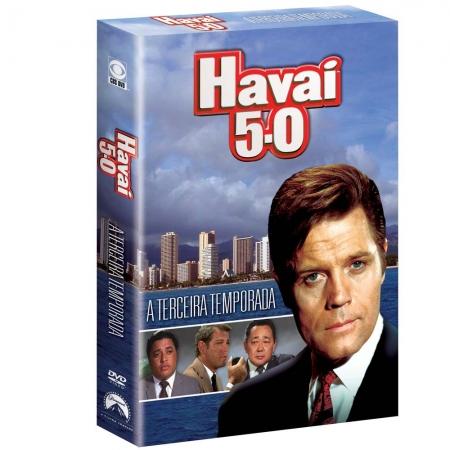 DVD - Box Havai 5 - 0 A 3 Temporada completa 6 Discos