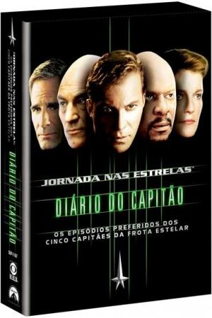 DVD Box JORNADA NAS ESTRELAS DIARIO DO CAPITAO  STAR TREK