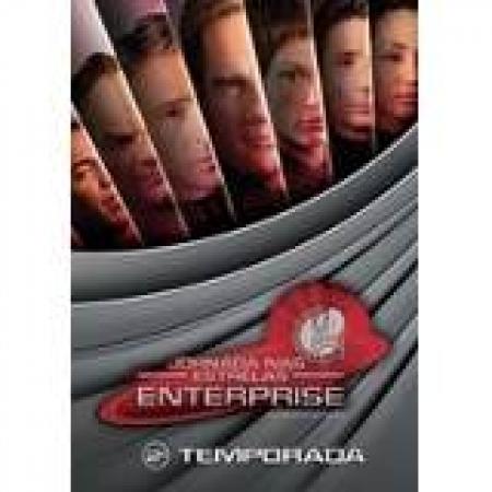 DVD Jornada Nas Estrelas Enterprise 2 Temporada