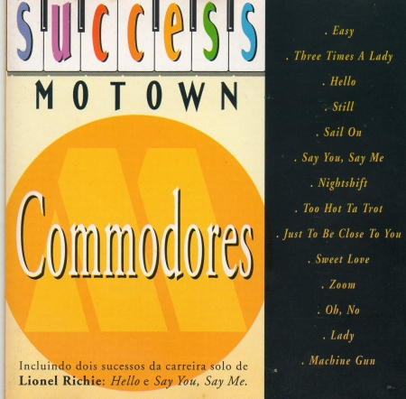 Commodores - Success Motown (CD)