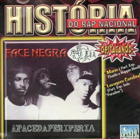 Face Negra - História Do Rap Nacional (CD)