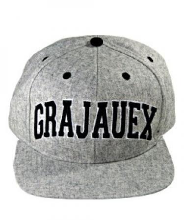Bone CRIOLO - GRAJAUEX - Cinza - Snapback