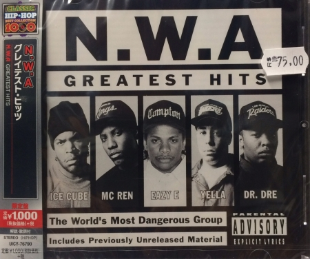 NWA - GREATEST HITS - (IMPORTADO JAPAN)