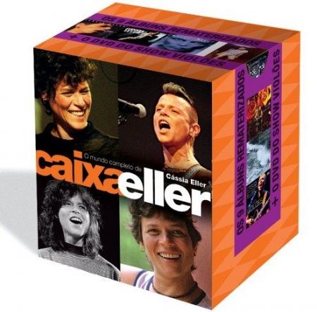 CAIXA ELLER - O MUNDO COMPLETO DE CASSIA ELLER (9 CDS + 1 DVD)