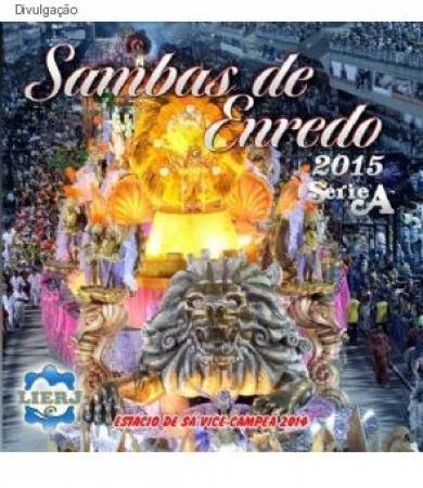 Sambas de Enredo 2015 - Série A (CD)