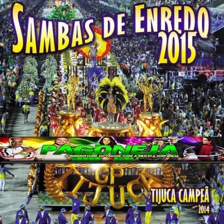 Sambas de Enredo 2015 (CD)