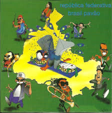 Tiroteio - Republica Federativa Pavão (CD)
