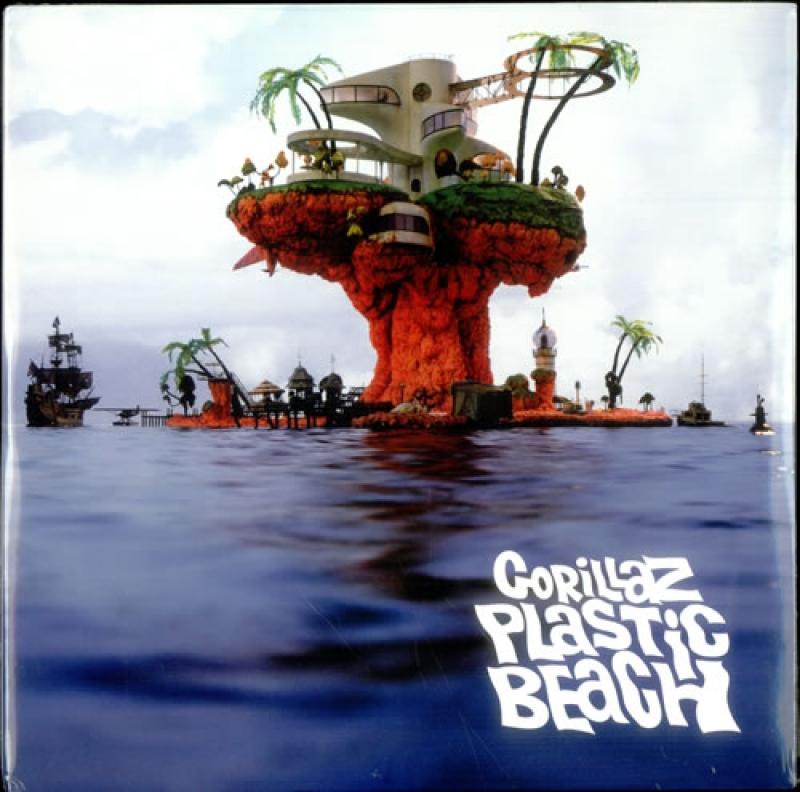 LP Gorillaz - Plastic Beach (VINYL DUPLO IMPORTADO LACRADO)
